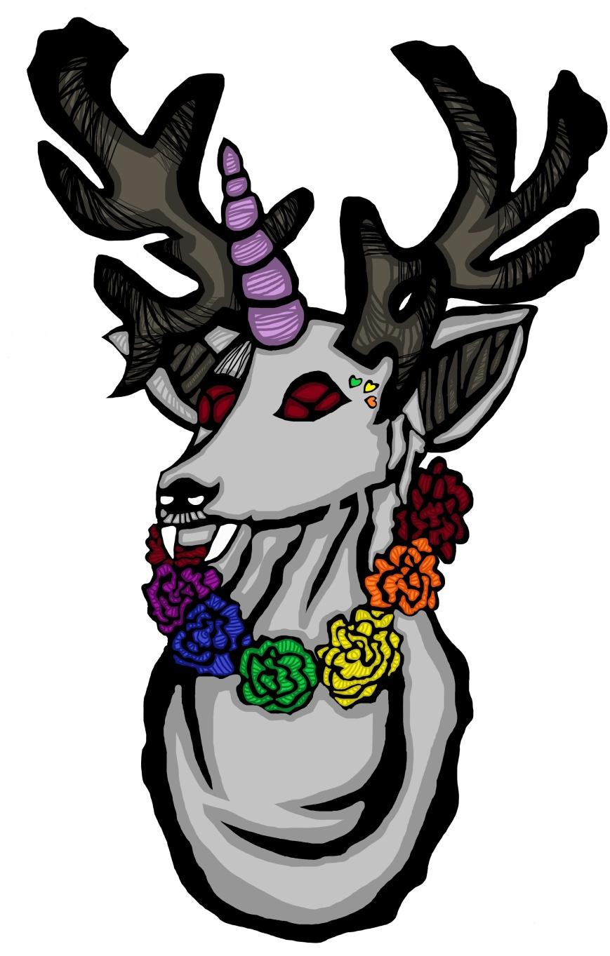 Pride-Sven valkoinen
